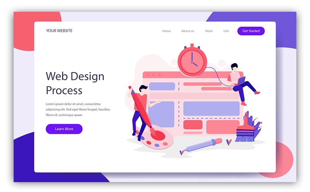 Скриншот веб дизайн